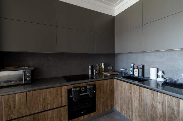 Kitchen - deep matt (grey)