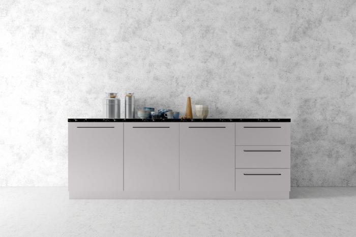 Forner Velvet Collection NL 7361 Stone Grey